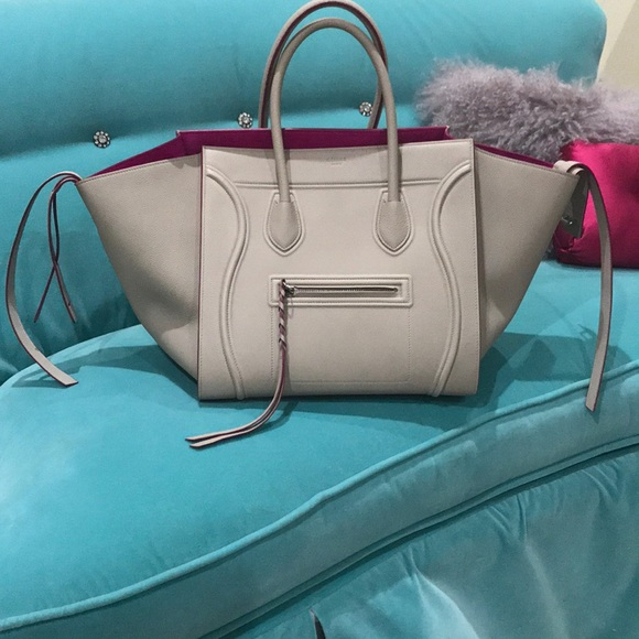 0e8b03beb4 Celine Handbags - Céline Medium Luggage Phantom Bag